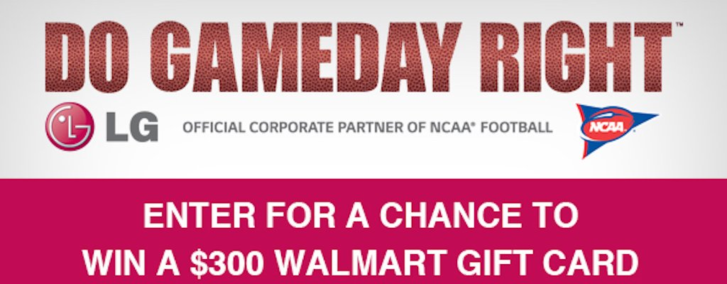 LG is Getting You NCAA Game-Day Ready