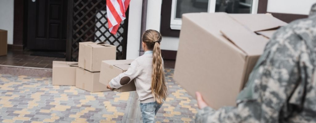 How Does Moving a Family in the Military Work?